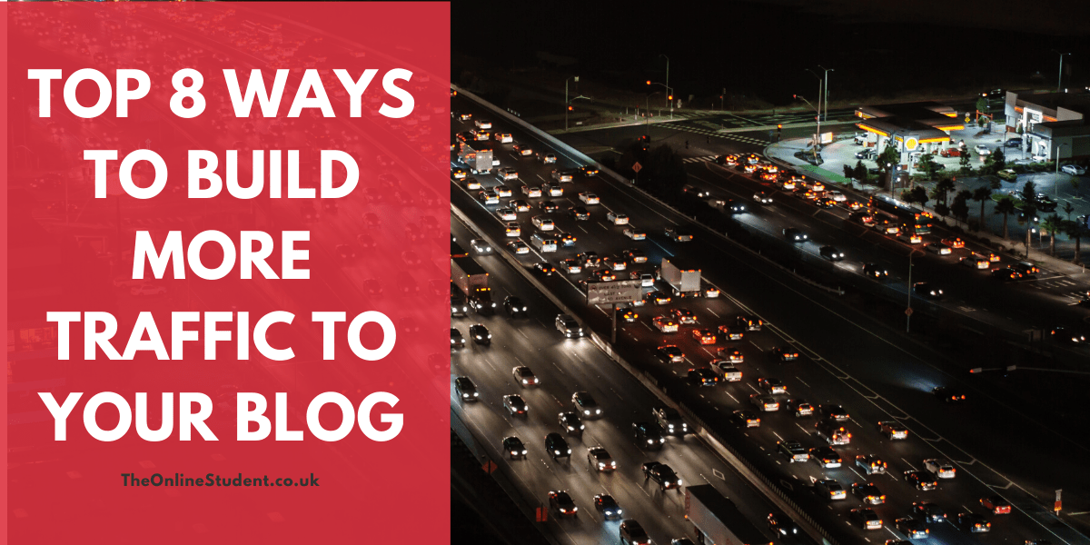 Top 8 Ways To Build More Traffic To Your Blog 1 ways to build more traffic to your blog