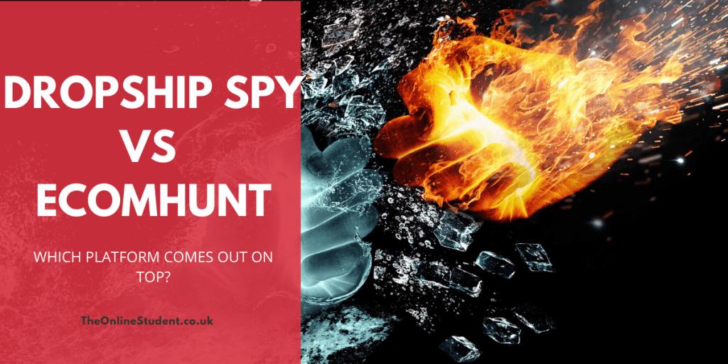 DropShip Spy vs Ecom Hunt 5 dropship spy vs ecom hunt