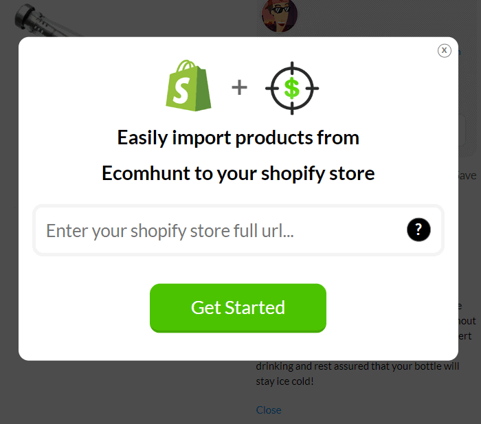 ecom Hunt review product import