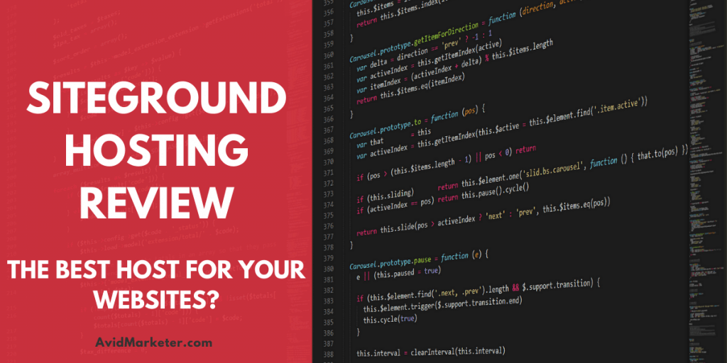 SiteGround Review 1 siteground review