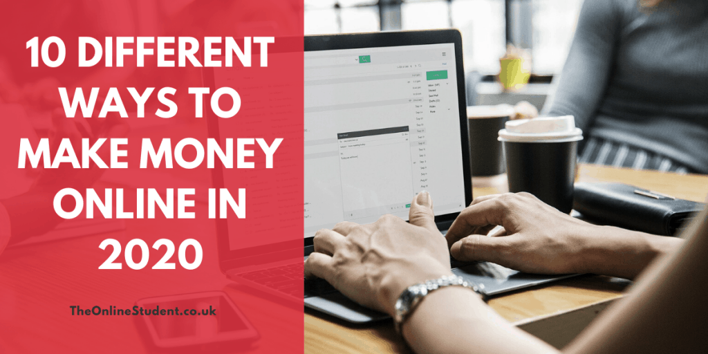 Different Ways To Make Money Online