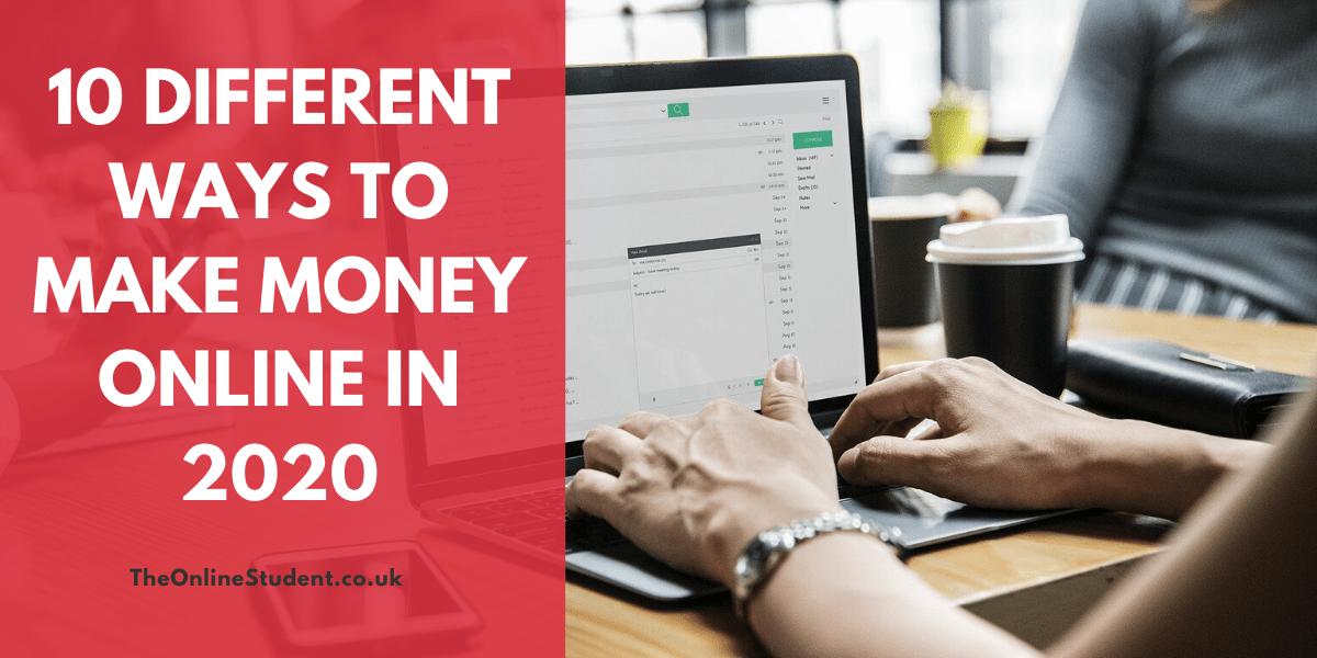 Different Ways To Make Money Online
