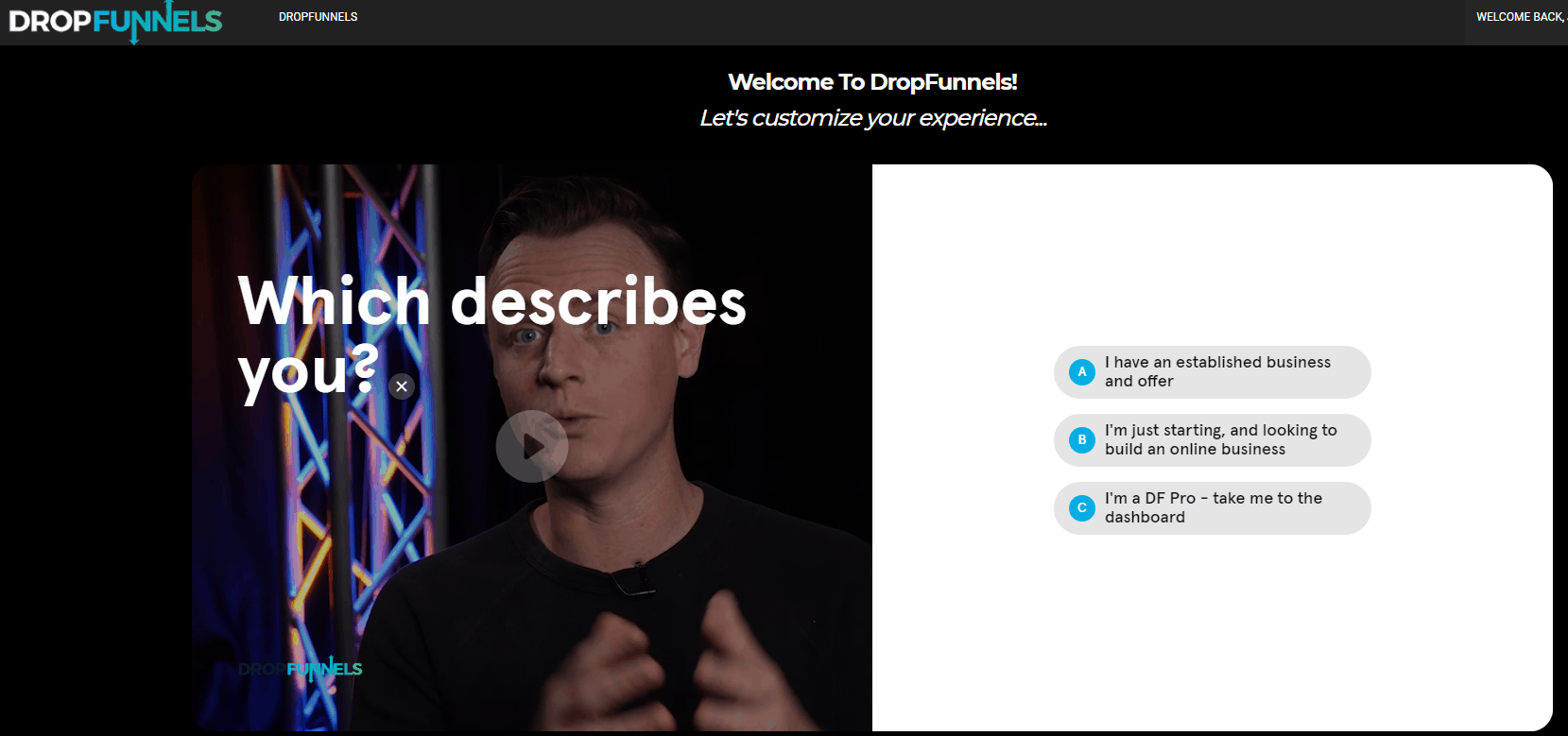 DropFunnels Review Funnel