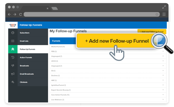 GetResponse Alternatives - Follow Up Funnels