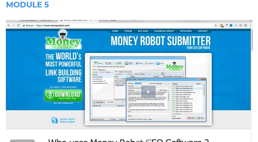 SEO Affiliate Domination Review - Module 5