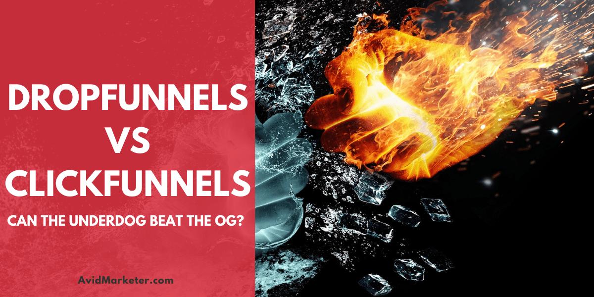DropFunnels vs CickFunnels FI