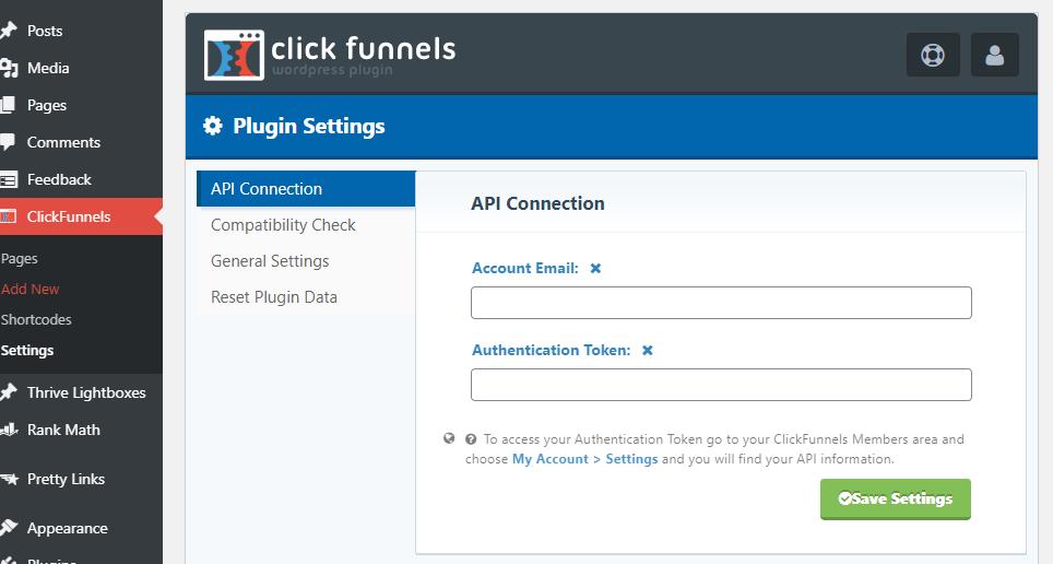 Adding API Key To WordPress