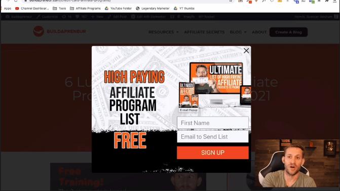 affiliate secrets 3.0 lesson 3